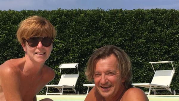 Martin i Pjer Ditrej, sa slike, vlasnici su Naturista Grottamiranda letovališta u Pulji (Italija).